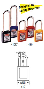 410 Safety Padlock Image