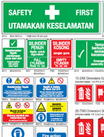 Safety Signages Image
