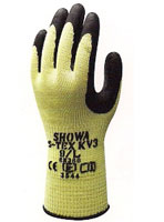 S-TEX KV3 Glove LEVEL 5++ PROTECTION Kevlar liner reinforced with stainless steel. Latex-coated palm. Image