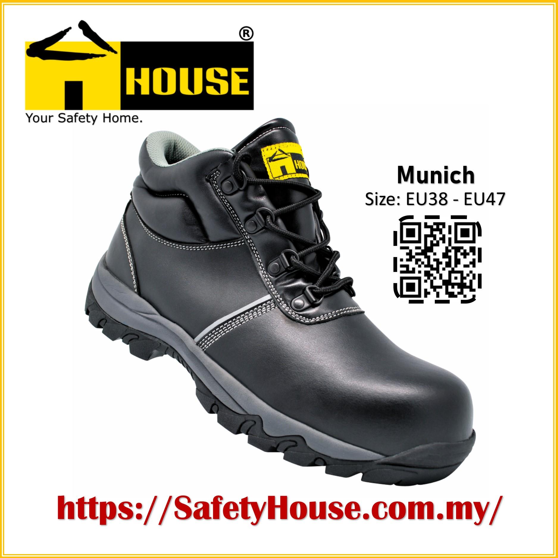 HOUSE MUNICH SAFETY SHOES C/W COMPOSITE TOE CAP & ARAMID MID SOLE Image