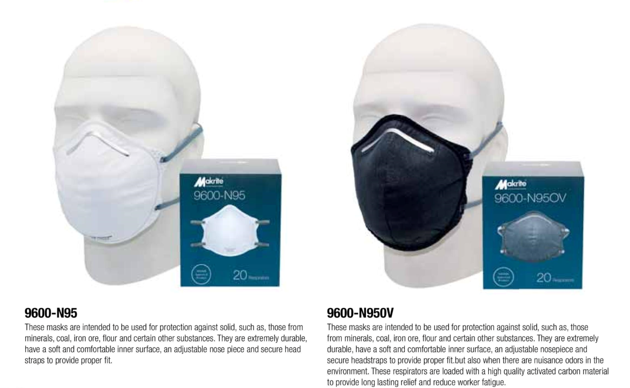 Makrite N9600 Disposable Mask Image