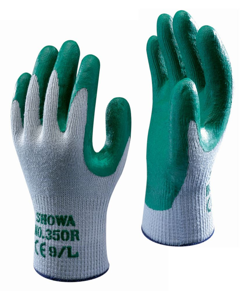 Showa Nitrile Palm Coated Cotton Knit Glove Image