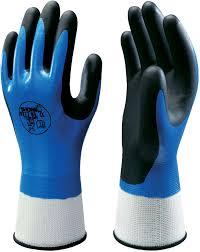 Showa Nitrile Fully Coated Nylon Knit Glove Image