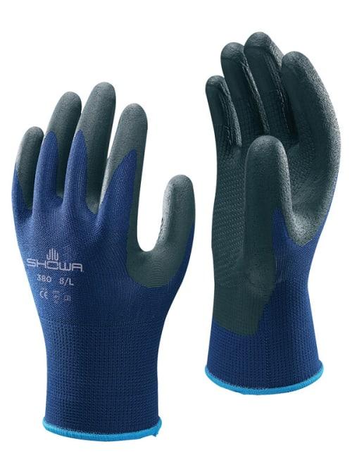 Showa Foam Nitrile Palm Coated Nylon Knit Glove Image