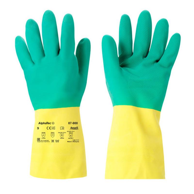 Ansell Alphatec Bi-Colour Glove Image