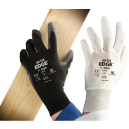 Ansell Edge PU Palm Coated Glove (White/Black) Image