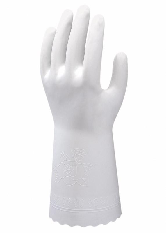 Showa Clean White Dipped PVC Image
