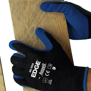 Ansell Edge Rubber Palm Coated Glove Image
