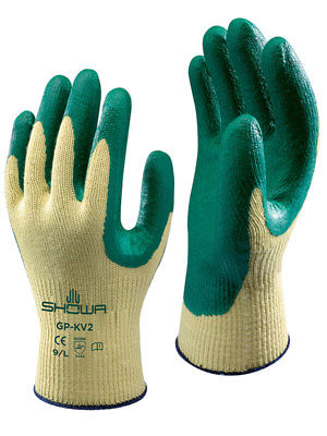 Showa Nitrile Palm Coated Kevlar Glove Image