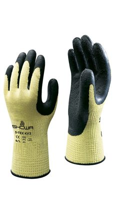 Showa Rubber Palm Coated Kevlar Glove (Level5) Image
