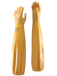 Showa Nitrile Supported Glove (65cm) Image