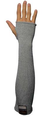 Taeki 5 Gray Sleeve w/Thumbslot and Velcro Image