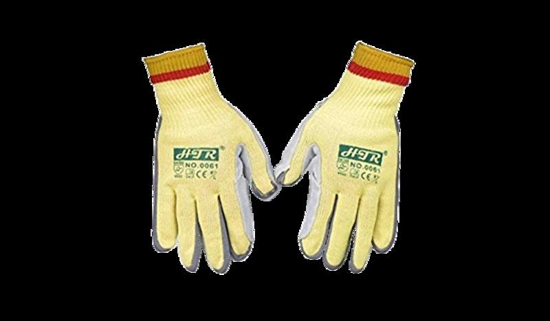 HTR Palm Leather Kevlar Glove Image