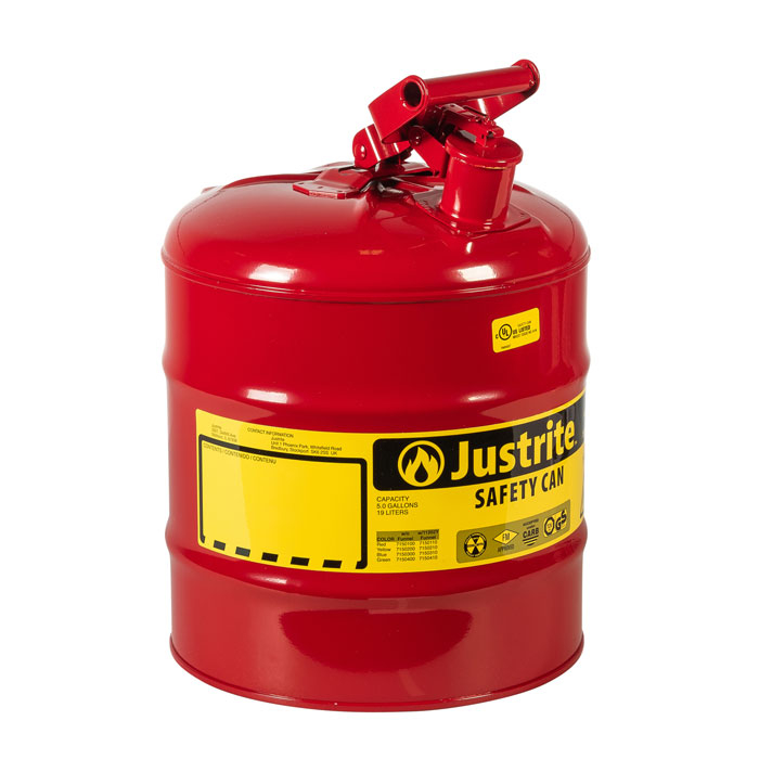 Justrite Type 1 Safety Cans 7150100Z Image