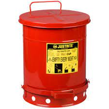 Justrite Oily Waste Cans 9300 Image