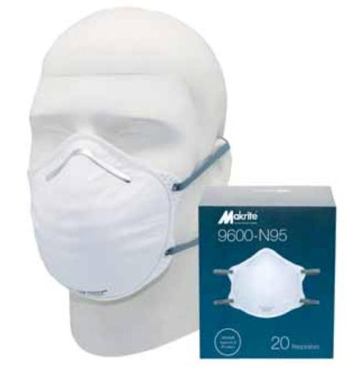 Makrite 9600-N95 Disposable Respirator Image
