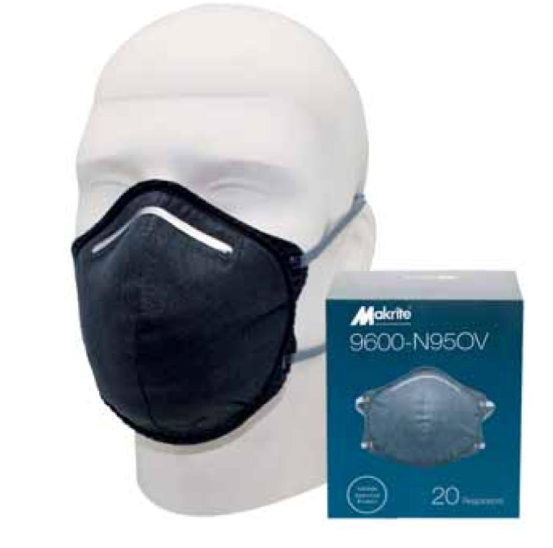 Makrite 9600-N95OV Disposable Respirator Image