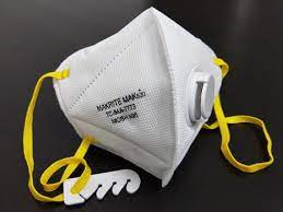 Makrite N95 Valved Particulate Respirator Image
