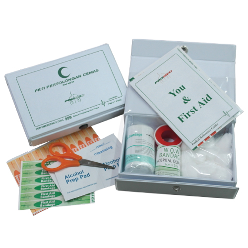 First Aid Kit with PVC Casing PM-01-PMN Image
