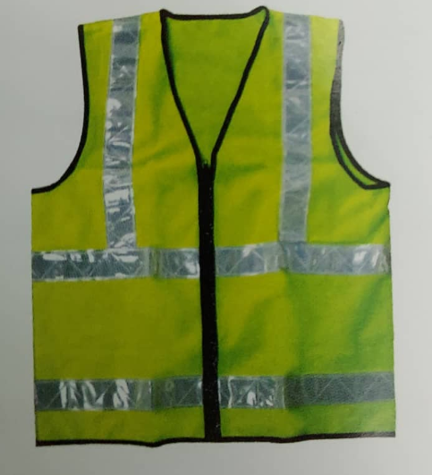 Polyester Safety Vest Image