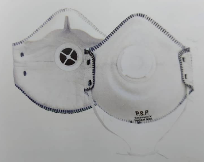 HOUSE N95 Valved OV Particulate Respirator Image