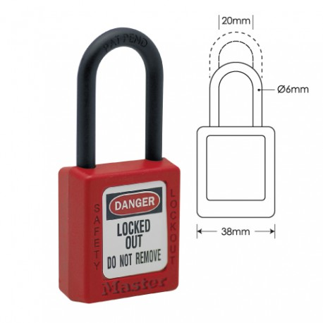 Zenex 406 Safety Padlock Image