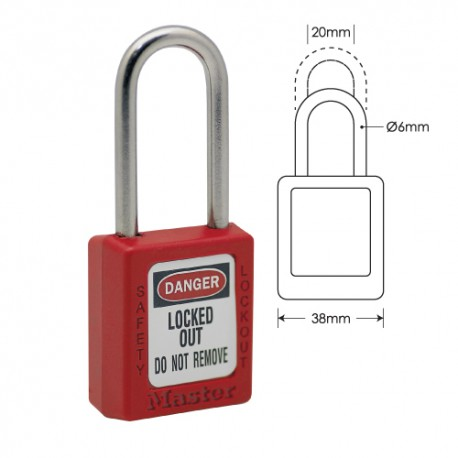 Zenex 410 Safety Padlock Image